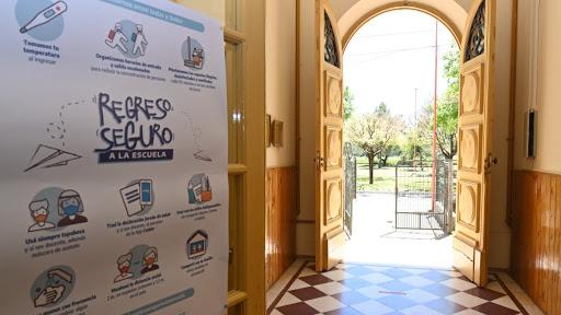 Escuelas abiertas y espacios de apoyo por turnos en distritos sin presencialidad