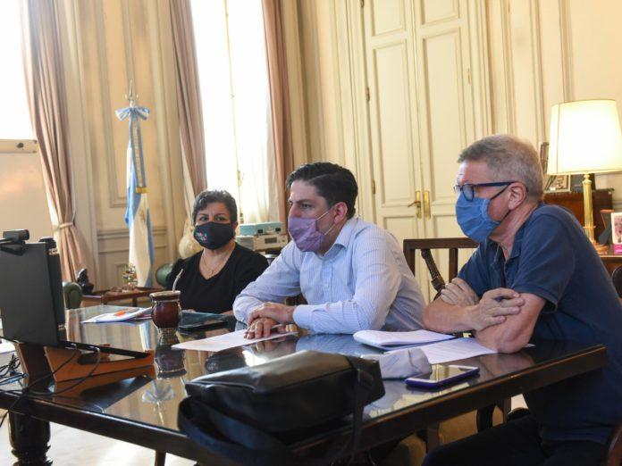 """Clases presenciales: Trotta se reunió con ministros provinciales y le pidió a Larreta que """"reflexione"""""""
