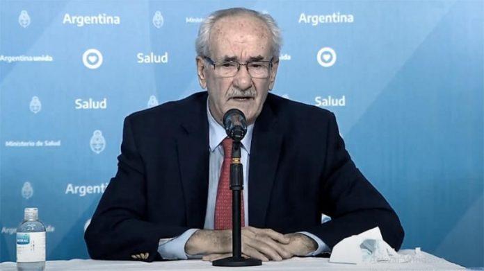 El presidente del Incucai, Carlos Soratti