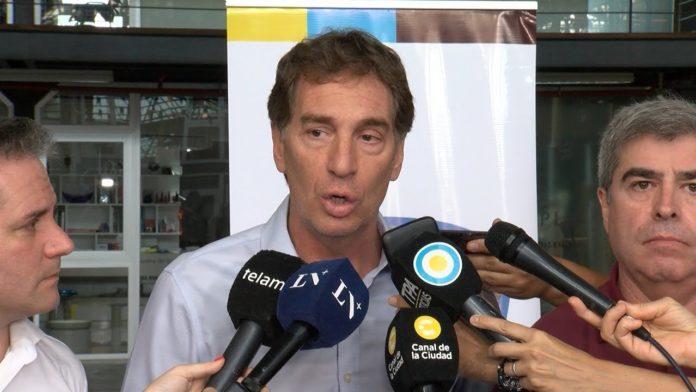 El vicejefe de Gobierno porteño, Diego Santilli