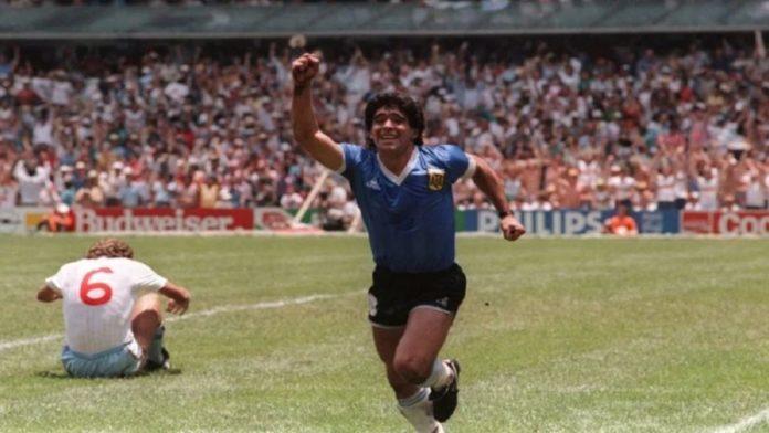 Después de 35 años, el gol de Diego a Inglaterra volvió a gritarse en todo el país