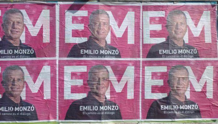 El expresidente de la Cámara de Diputados, Emilio Monzó, lanzó una campaña gráfica en territorio bonaerense