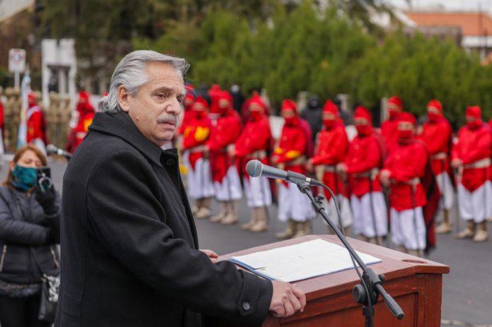 """Fernández en Salta: """"Voy a trabajar por reconstruir un país federal"""""""
