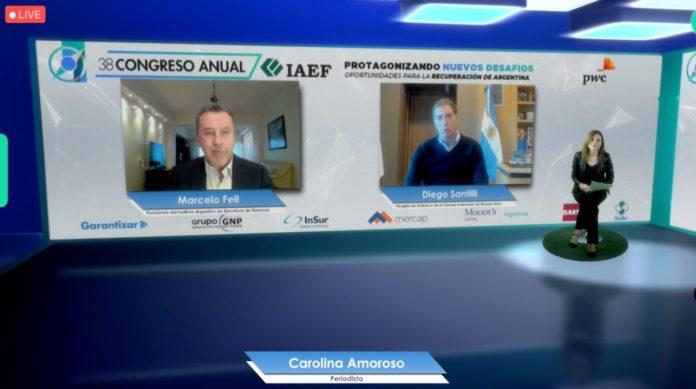 El vicejefe de Gobierno porteño, Diego Santilli, expuso en el 38° Congreso Anual del Instituto Argentino de Ejecutivos de Finanzas (IAEF)