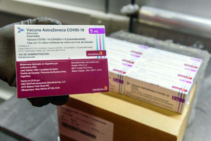 Serán 1.115.900 las dosis de AstraZeneca que se repartirán entre el 24 y el 25 de junio. (Télam)