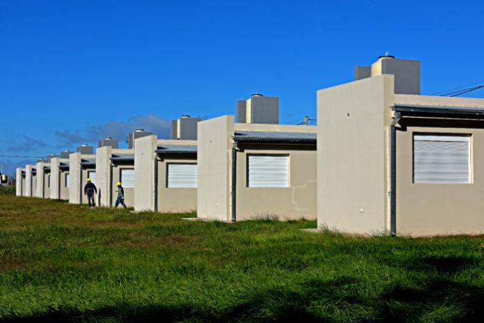Las nuevas viviendas beneficiarán a 160 vecinos del partido. (Ministerio de Infraestructura)