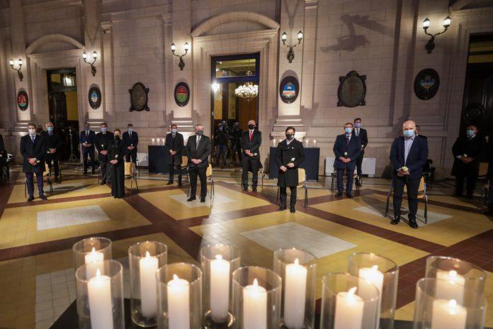 """Homenaje a víctimas del Covid: Fernández llamó a """"construir una Argentina unida y solidaria"""""""