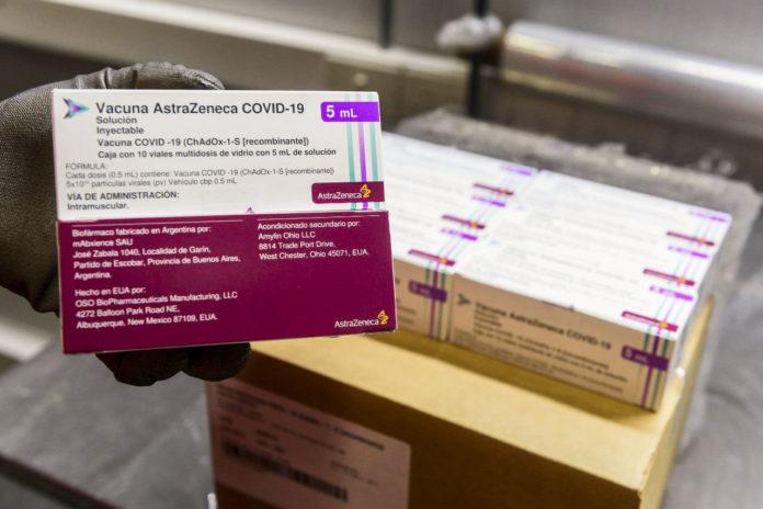 La Argentina recibió este lunes más de un millón de vacunas AstraZeneca contra el coronavirus