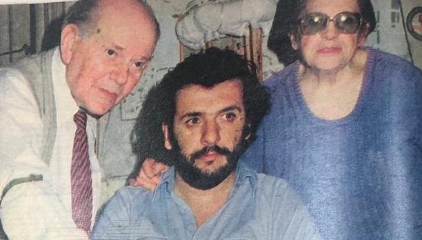 La familia Fersko: Luis, Oscar y Cipriana. (Archivo revista Libre)