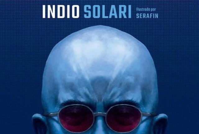 Ya está en las bateas un libro con las letras del Indio Solari ilustradas por el artista Serafín