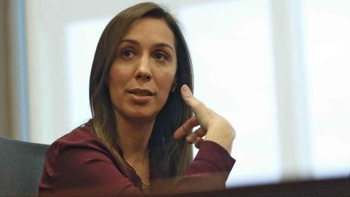 María Eugenia Vidal protagonizó un fuerte cruce con Axel Kicillof.