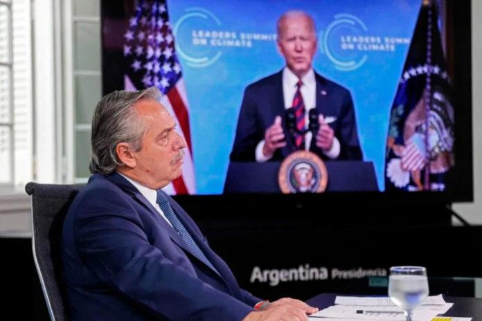 Alberto Fernández le agradeció a Joe Biden la donación de vacunas