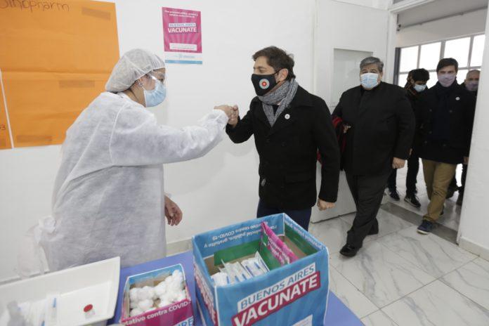 A este ritmo, la Provincia podría completar la vacunación con una dosis de mayores de 18 en un mes