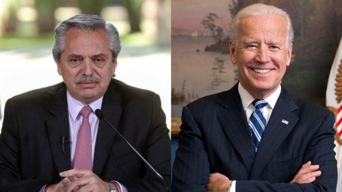 """Biden le envió una carta a Fernández: """"Sigamos trabajando juntos"""