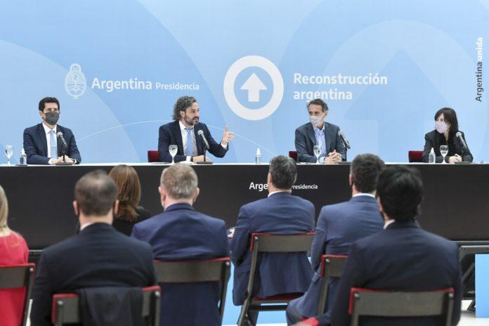"""Cafiero: """"La Argentina no vive del marketing político"""""""