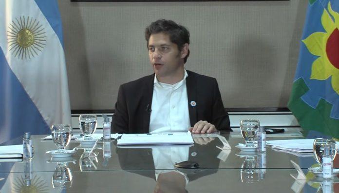 """Kicillof habló de un """"momento bisagra"""" para la """"reconstrucción"""" de la provincia"""