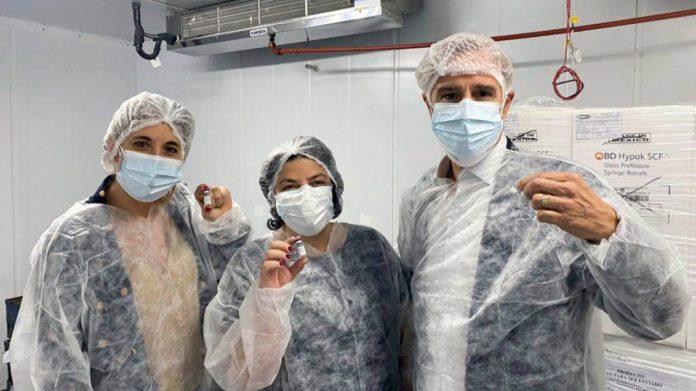 Las 450 mil dosis producidas en la Argentina podrían comenzar a aplicarse antes del 15 de julio