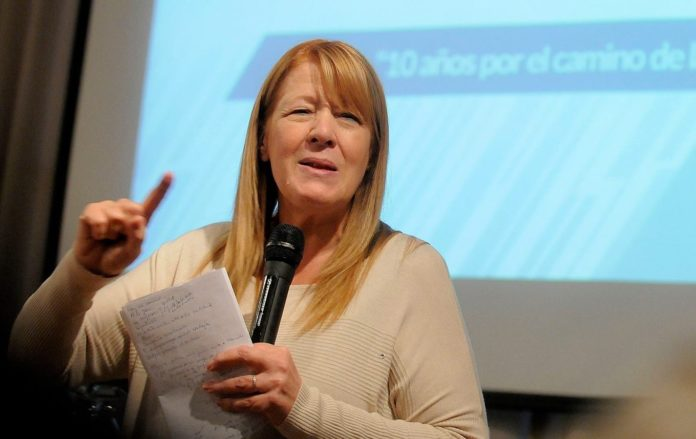 La precandidata a diputada nacional en la lista del radicalismo, Margarita Stolbizer