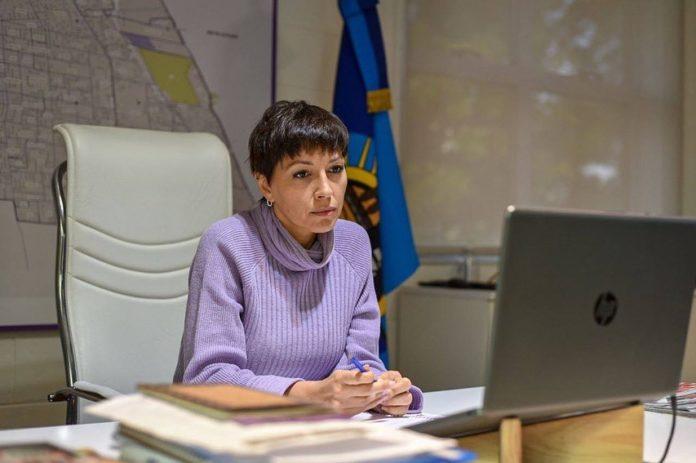 La intendenta de Quilmes, Mayra Mendoza,