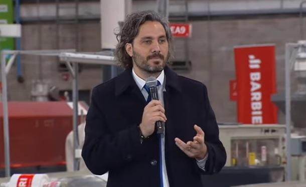 El jefe de Gabinete, Santiago Cafiero, le pidió a los jóvenes que