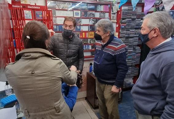 """Santilli en Morón: En la elección """"se juega qué provincia queremos"""""""