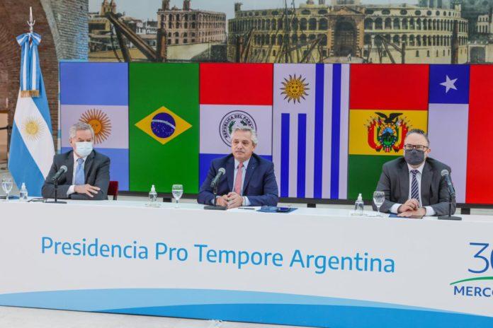 """Cumbre del Mercosur: en clima de tensión, Fernández pidió por la """"unidad"""""""