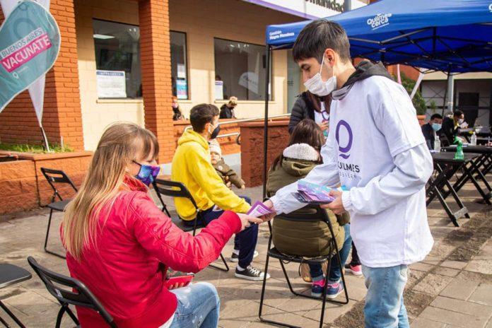"""Piden a la población """"sana y joven"""" de la provincia que se registre para recibir la vacuna"""