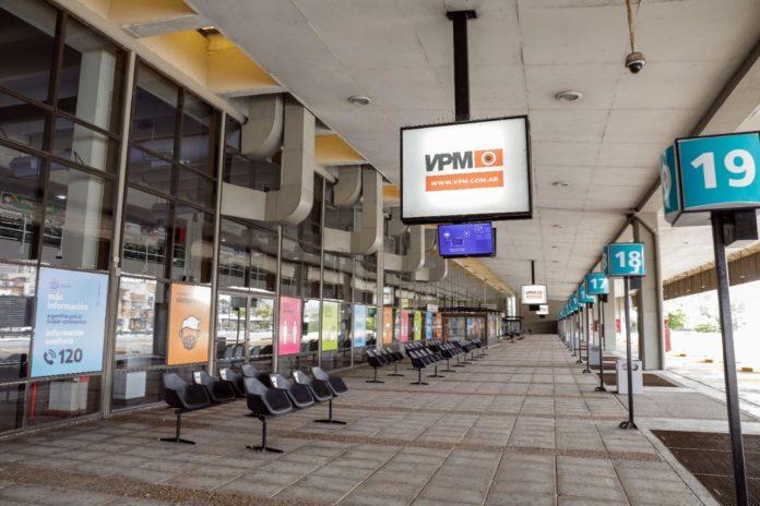 """La """"renovada"""" terminal de ómnibus de Retiro reabre desde este jueves."""