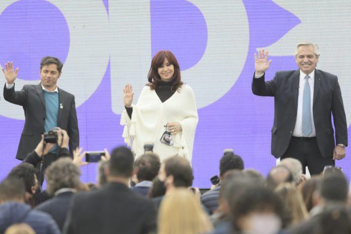 """Cristina Kirchner: """"Volveremos a construir la Argentina que nos merecemos"""""""