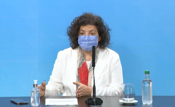 """Vizzotti no descartó """"una norma"""" para quienes no quieren vacunarse"""