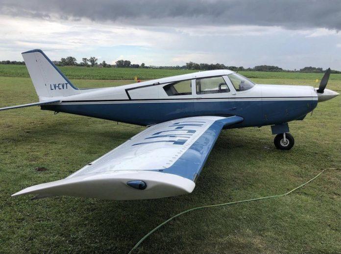 Una aeronave argentina cayó en Uruguay y murieron sus dos tripulantes