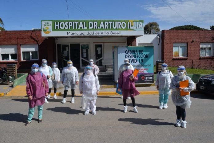 Villa Gesell informó que se encuentra sin pacientes Covid-19 en su hospital