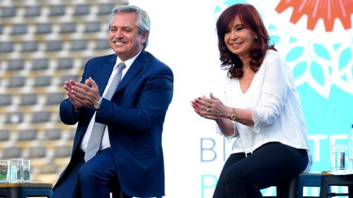 Alberto Fernández y Cristina Kirchner encabezan un plenario del Frente de Todos en La Plata