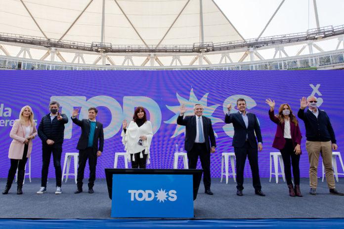 El Frente de Todos bajó línea de campaña a candidatos en un plenario con fuerte impronta de unidad