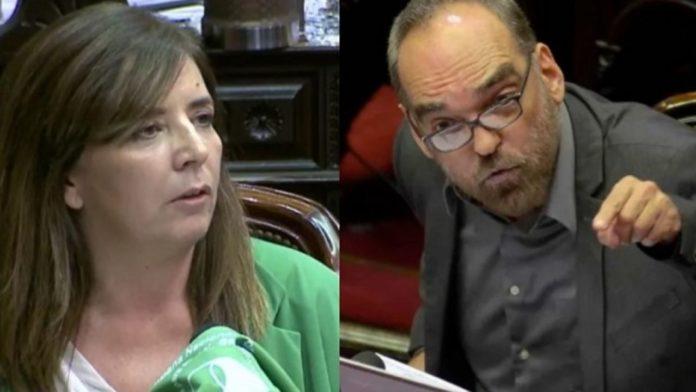 Presentaron un pedido de expulsión contra Iglesias por su ataque misógino a Peña