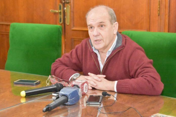 El intendente de Pehuajó, Pablo Zurro
