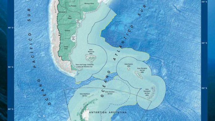 Gobierno acusa a Chile de intentar apropiarse de parte de plataforma continental