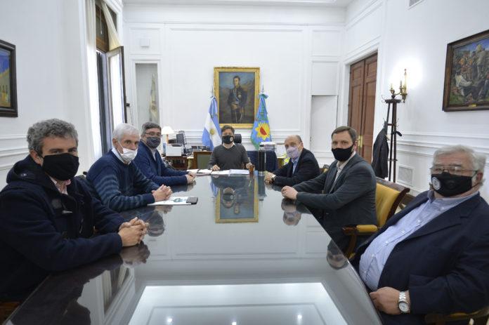 Kicillof dialogó dos horas con Carbap: Repaso de medidas y pedido por la carne