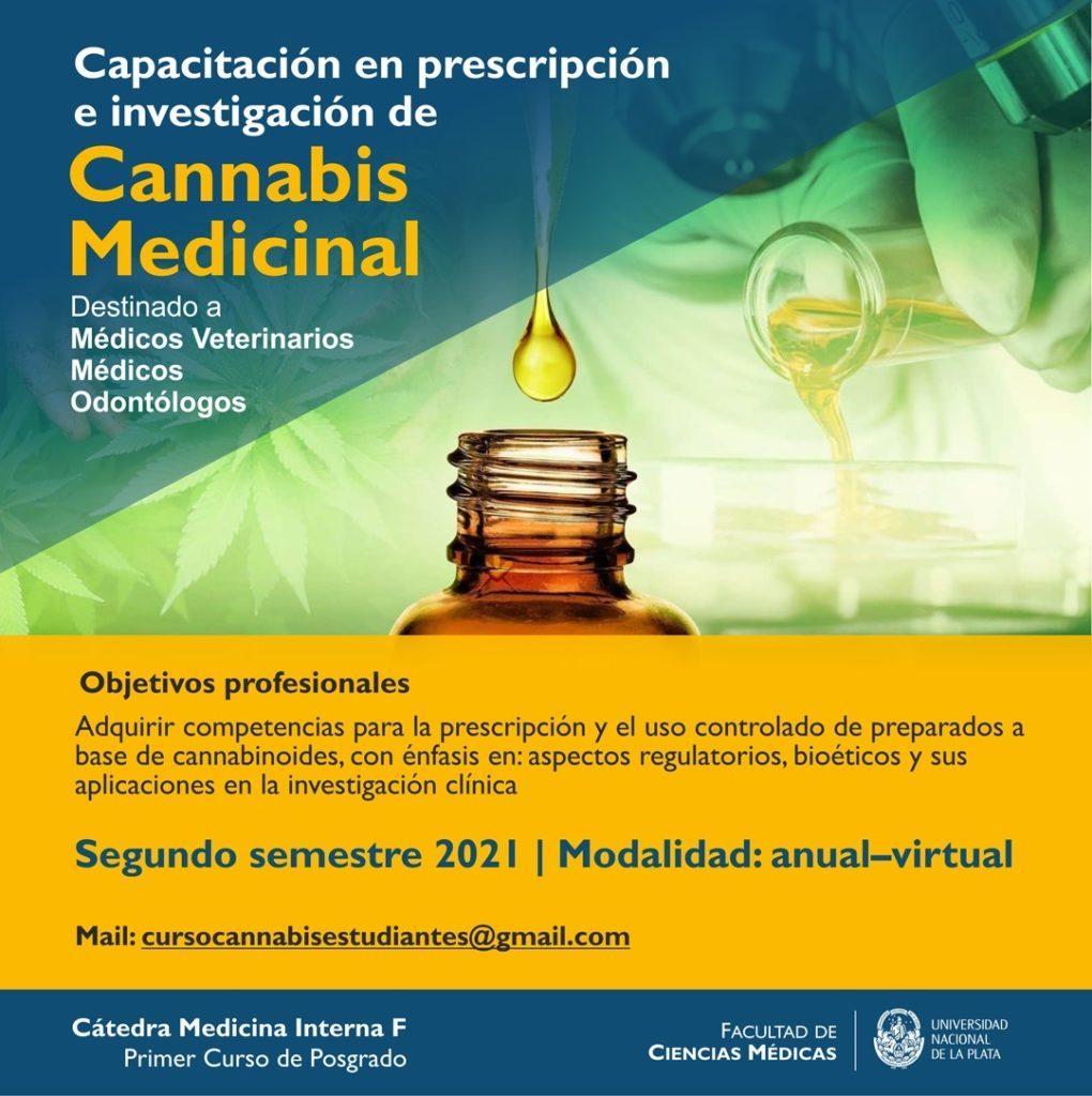 El afiche difundido por la Universidad Nacional de La Plata en sus redes sociales.
