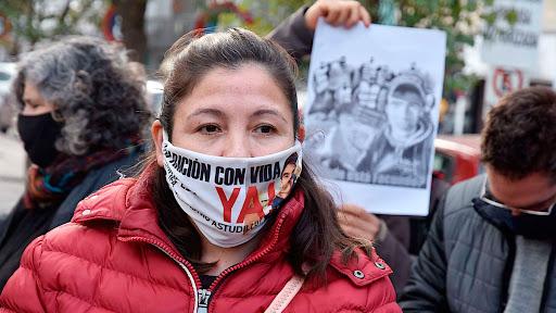 Cristina, la madre de Facundo Astudillo Castro, el joven desaparecido en plena cuarentena estricta y hallado muerto tres meses después.