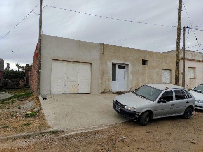 La vivienda de la calle Mendoza al 200 de Pigüé donde tuvo lugar el horror. (Semanario Reflejos)
