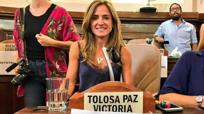Victoria Tolosa Paz, primera precandidata a diputada nacional por el FdT en la provincia de Buenos Aires.