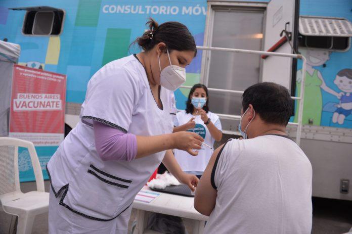 Provincia envía 500 mil turnos para aplicar segundas dosis