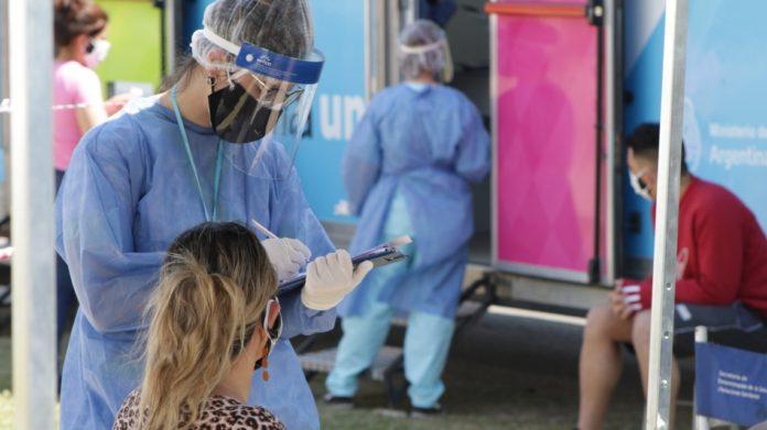 Coronavirus en Argentina: con una positividad del 4%, hubo 1.397 contagios