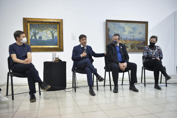 """Kicillof sostuvo que """"ahora se viene la reactivación"""" de la economía"""