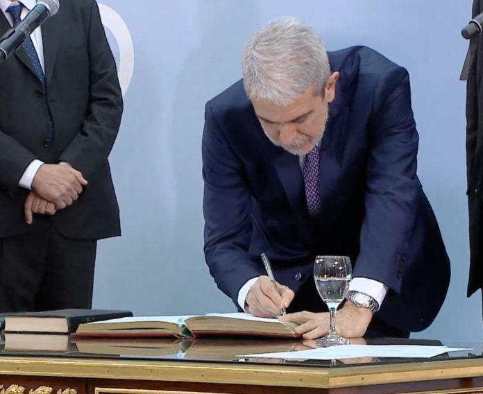 Aníbal Fernández afirmó que habrá continuidad de los acuerdos en seguridad que realizó Frederic