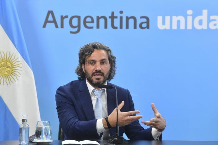 """El jefe de Gabinete, Santiago Cafiero, aseguró que """"el discurso del odio daña la democracia"""". (Presidencia)"""