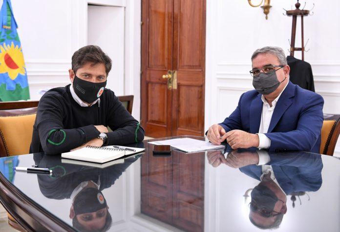 Kicillof y su par de Catamarca dialogaron sobre producción y turismo