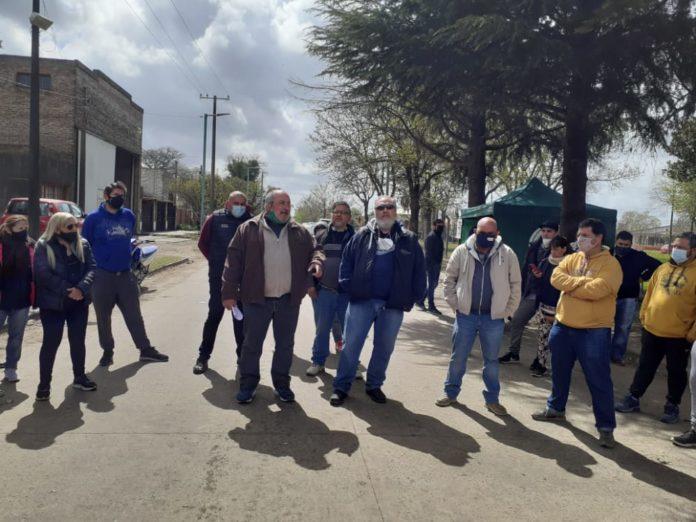 Chacabuco: los municipales realizan un paro por tiempo indeterminado