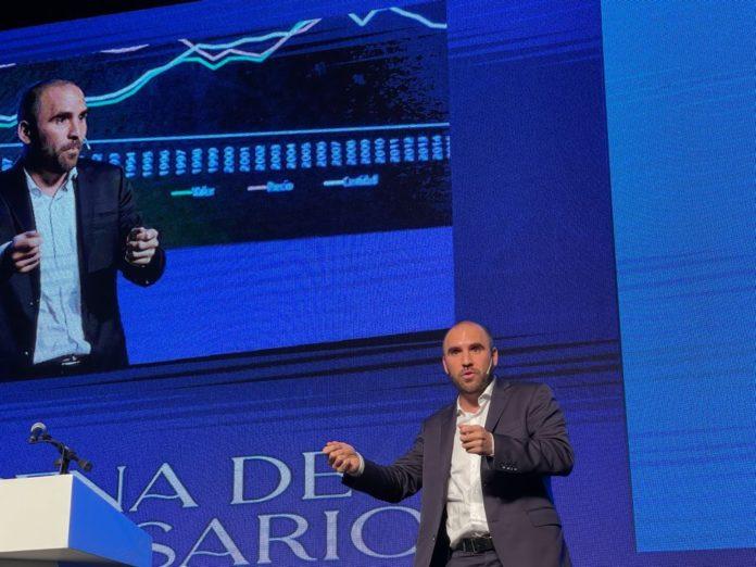 Guzmán dijo que la inflación fue menor al 3% en agosto, por primera vez en el año